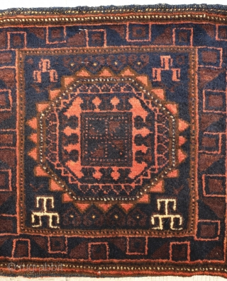 Baluch tubreh , almost hundred years old Mint condition , 35 * 35 cm