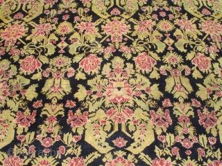 """#6504 Karabaugh Antique Oriental Rug Runner  Size: 6'5″ X 20'11""""  (198 X 640 cm)   Price on request  https://antiqueorientalrugs.com/product/6504-karabaugh-antique-oriental-rug-runner/"""