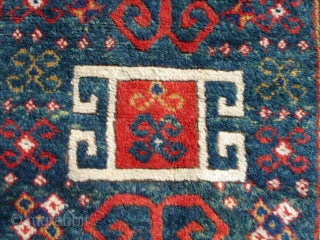 #5625 Borchalou Kazak Antique Caucasian Rug 