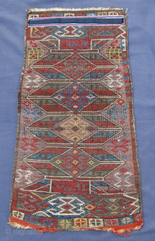Dated rare early western Anatolian Yastik, full pile with early natural colors, 