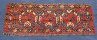 Ikat Jollar, excellent condition, early 19th, century, a plethora of natural colors, warps of goat hair, wefting commingled with cotton and wool,