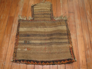 Antique Luri Bakhtiari Soumac Salt bag.  Measure 1'6''x1'10''.  Top width is 8''.  Seems like its in excellent condition.
