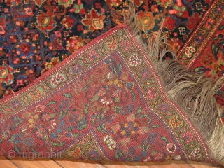 Antique Khamseh or Ghashgai 5'x5'5''.  Mint condition just a little wonky and needs to be straightened.