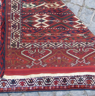 Turkoman Wonderful colors and excellent condition all original Circa 1900-1910 and has also arabic calender date