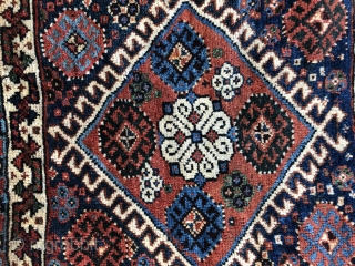 Antique Qashgai bag wonderful colors and very nice condition all original size 58x55 cm Circa 1880-1890