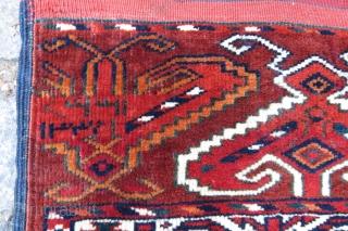 Antique Turkoman wonderful colors and excellent condition all original size 2,35x1,14 cm Circa 1900-1910