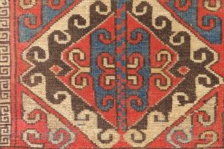 Antique Kyrgyz pillow wonderful colors and excellent condition all original size 1,15x56 cm Circa 1890-1900