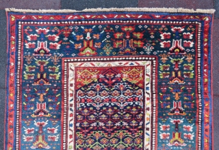 Antique Bitchar runner wonderful colors and amazin wool all original size 5,30x1,06 cm Circa 1890-1900