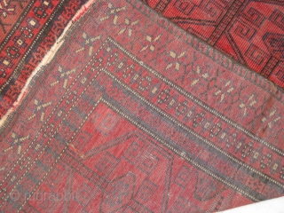 Old Small Baluch rug in mint collection.
