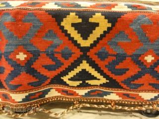 Tribal Caucasian Mafrash - Size: 19H x 19D x 40L