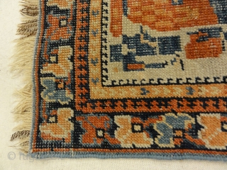 Antique Afshar with Tribal Flowers