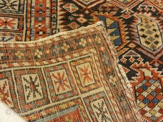 Rarest Antique Maraseli Shirvan Caucasian Prayer Rug 3'3″ x 5'2″