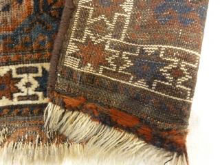 Antique Baluch Bagface Size: 2'3″ x 3′
