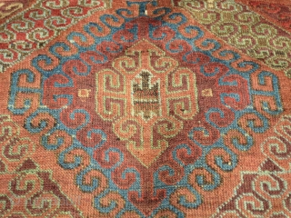 Antique colorful baluch, nice design.