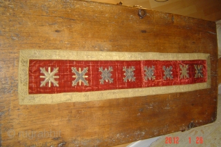 European silver/metal embroidery 99cmx18cm pazyryk antigue amsterdam