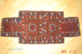 19th century nomaden/salt bag/namakdan Very good condition natural colors 52cmx42cm pazyryk antique