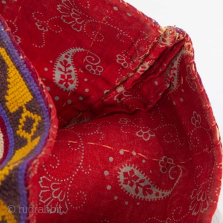 Iroki ( cross stitch ) Hat from Uzbekistan , late 19th c.