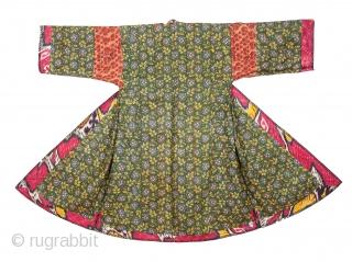 Silk Ikat Chapan, Tajikstan As good as they get with a great lining and ikat facing.
