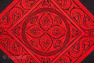 Hungarian felt Applique Panel 127 x 127 cm / 4'2'' x 4'2''