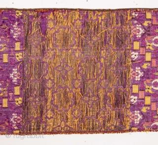 Fez Sash Fragment  19th C. 117 x 17 cm / 46 x 6.69 IN.