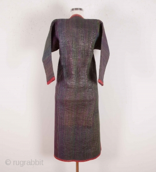 Central Asian Khorazm Heavily Quilted Coat