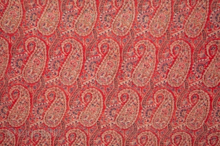 Kashmir Shawl Fragment 69 x 129 cm / 2'3'' x 4'2''