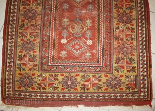 very early Milas, with great colors, size 140x104cm