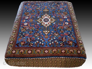 Wonderful antique Bidjar pillow Cushion rug set. Early 1900s. Size per cushion about 2.8 x 2.3 ft. Excellent condition for it's age. Shipping to US and CA $75.