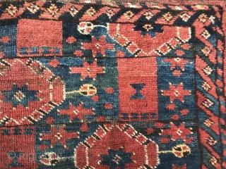 Fragment of Middle Amu Darya or Ersari , with really nice wool, like W B said.