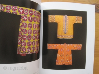 Book : Aav / Tairov. Embroidered Paradise – Central Asian Embroideries, 2007 An attractively produced museum exhibition catalog on Central Asian ikats and embroideries: 50 suzanis, 55 Lakai embroideries and 140 caparisons, door  ...