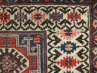 "3' 3"" x 9' 2"" Northwest Persian with ends secured; selvage wrapping replaced.  Free Ship/U.S.    3 day returns policy."