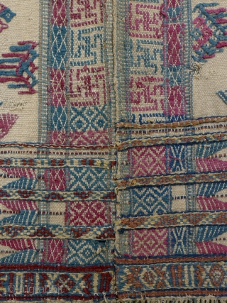 'Kushung' from Bhutan - Rarely found, these old tunics are considered to be 'archaic' in design, and predate the current women's traditional dress, or 'kira' or 'kushutara'. This tunic has a wonderful  ...