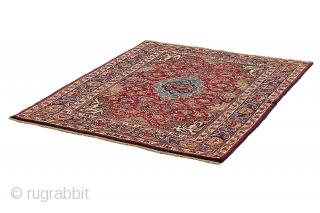 Antique Mashad Persian Carpet 170x123cm. More details https://www.carpetu2.com