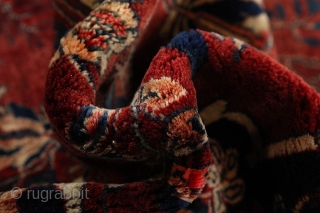 Bijar Persian Rug   Age: More than 80 years old  Size: 340x205 cm   More information: https://www.carpetu2.com  info@carpetu2.com