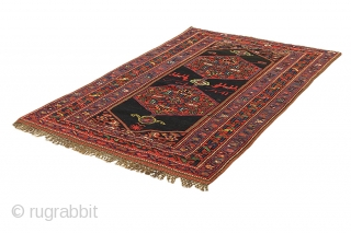 Antique Qashqai Persian Carpet. More info https://www.carpetu2.com/