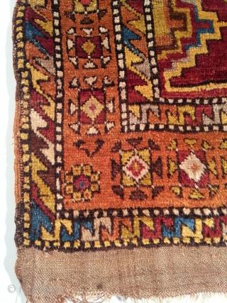 Anatolian Carpet Arround 1800 Seize 123 X 175 Cm A