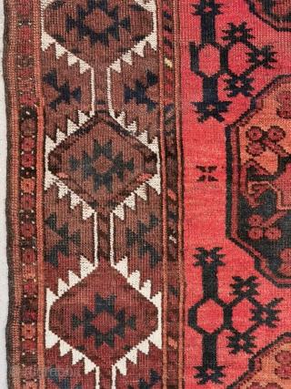 Ersari carpet with Gulli Gul's, nice condition, ca. 1900-1920 305 x 220 cm