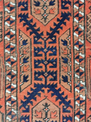 Antique Baluch, 19th. c. partially with camel ground, 158 x 87 cm