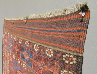 XIXth C. Baluch. 100% natural colors. Nice, floppy handle. Pristine condition.