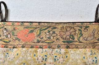 1600s / 17th Century Safavid silk / gold brocade.