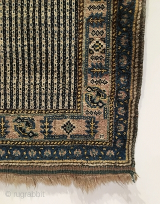 Qashqai Rug.  Circa Antique.  6 colors.  57 x 37.5.  Excellent condition, full pile. Clean and hand washed.