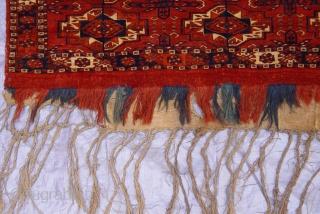 "Tekke Torba Turkmen First quarter of 18 Century or older, great original condition, 1'6"" x 3'8""ft / 51 x 112 cm."