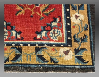 """Khaden"", Tibet, 19th C., 2'6"" x 4'4""