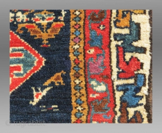 "Veramin Trapping/Mafrash Panel/Torba(?), N. Persia, 19th C., 3'1"" x 1'3""
