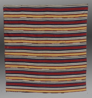 "Shahsevan Jajim (flat weave), NE Persia, 19th C., 6'10"" x 7'1""