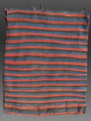 "Shahsevan Sumak Bag, NW Persia/Caucasus, 19th C., 1' 9"" x 2' 3""  Good condition, natural dyes"