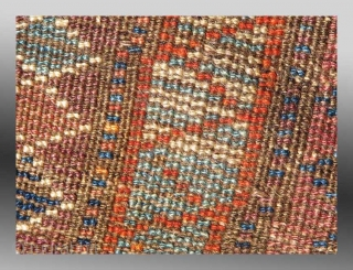 "Baluch ""Pushti"" (Bag Face), W. Afghanistan, 19th Century, approx 1'7"" x 2'10""