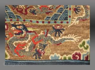 Saddle Rug, Gyantse(?), Tibet, circa 1900  Immaculate condition  Please ask.