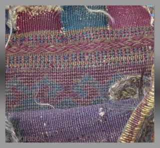 """Baluch Bag, W. Afghanistan, circa 1900?, 1'5"""" x 1'8""""  Good condition, no repairs, natural dyes"""