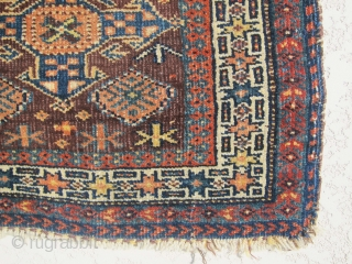 Lovely, cute, antique small baluch bag face, awesome piece.